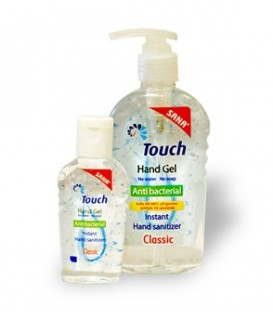 Touch Gel Classic - gel antibacterian, 59 ml