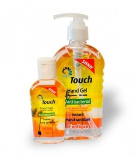 Touch Gel Exotic - gel antibacterian, 59 ml