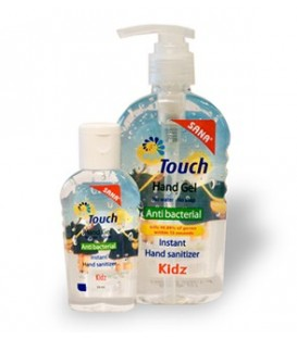 Touch Gel Kids - gel antibacterian, 59 ml