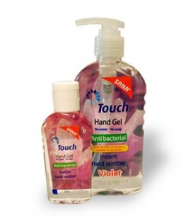 Touch Gel Violet - gel antibacterian, 59 ml