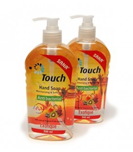 Touch Exotic - sapun lichid antibacterian, 500 ml
