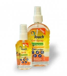 Touch Spray Exotic - spray antibacterian, 59 ml