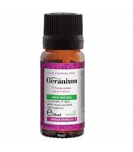 Ulei Geranium esential uz extern, 10 ml