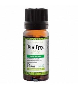 Ulei esential de arbore de ceai (tea tree) pentru uz extern, 10 ml
