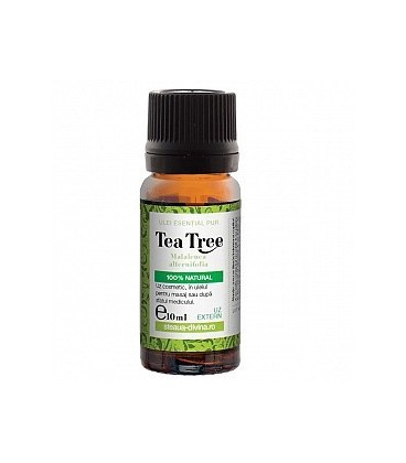 Ulei arbore ceai esential uz extern, 10 ml ( tea tree)