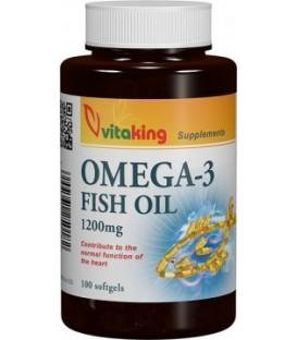 Omega 3 ulei de peste 1200 mg, 90 capsule