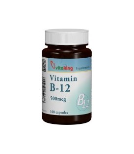 Vitamina B12, 500 mcg-100 comprimate