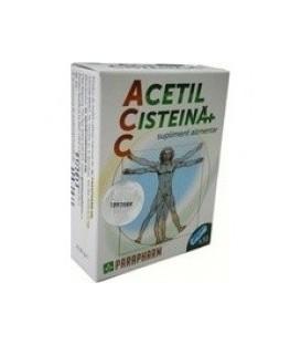 Acetil Cisteina+ C, 30 capsule