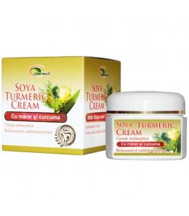 Crema antiseptica cu marar si curcuma, 40 grame