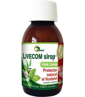 Livecom sirop (fara zahar), 100 ml