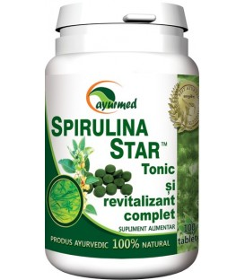Spirulina star, 50 tablete