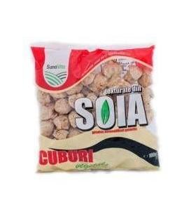 Cuburi soia vegetale, 100 grame