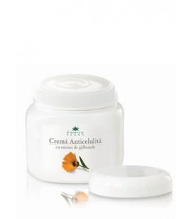 Crema anti-celulita cu extract de galbenele (500 ml)
