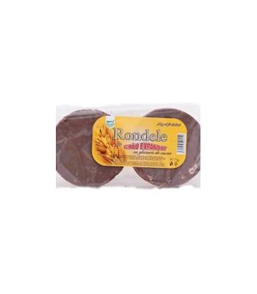 Rondele cu glazura de ciocolata, 75 grame