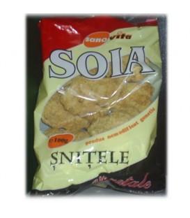 Snitele de soia vegetale, 100 grame