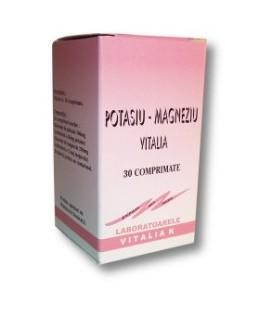 Potasiu magneziu, 40 comprimate