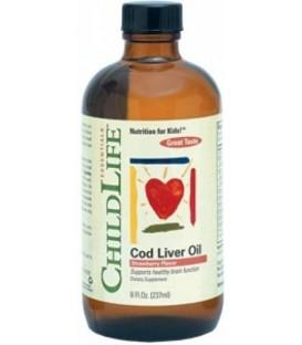 Cod Liver Oil (pentru copii), 237 ml