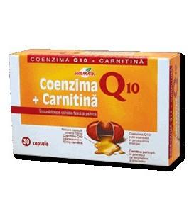 Coenzima Q10 + Carnitina, 30 comprimate
