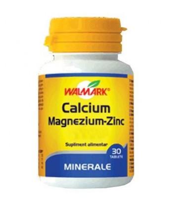 Calcium Magnezium Zinc, 100 comprimate