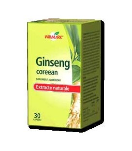 Ginseng coreean, 30 capsule