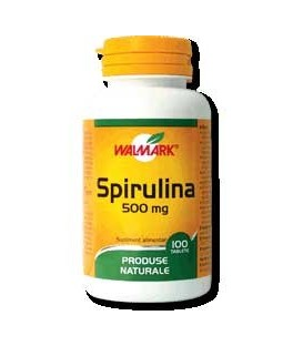 Spirulina 500 mg, 30 tablete