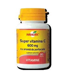 Super vitamina C 600 mg, 30 tablete
