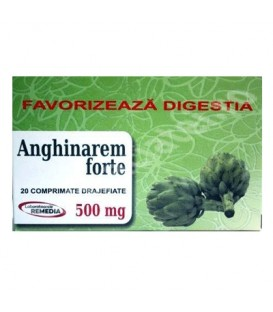 Anghinare forte 500 mg, 20 tablete