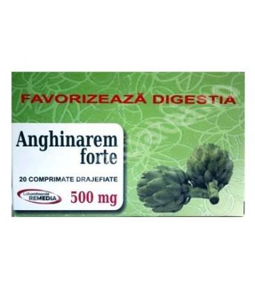 Anghinarem forte 500 mg, 20 comprimate