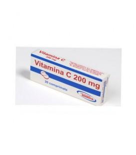 Vitamina C 200 mg, 20 tablete