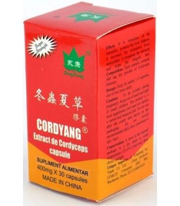 Cordyang (Cordiceps), 400 mg 30 capsule