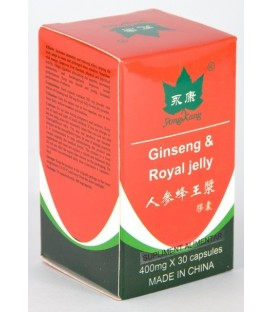 Ginseng & Royal Jelly, 30 capsule