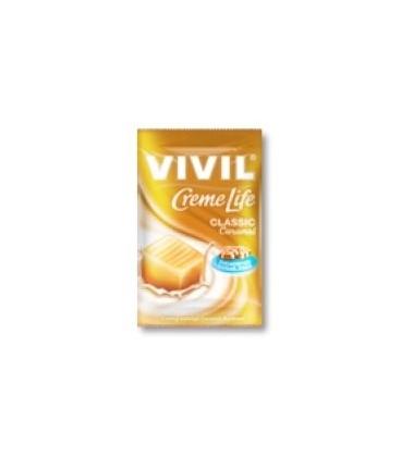 Vivil Creme Life Caramel fara zahar, 140 grame