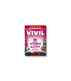 Multivitamine cu fructe de padure (fara zahar), 60 grame