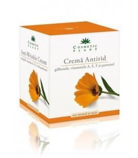 Crema antirid cu galbenele si vitaminele A, E, F si pantenol (50 ml)