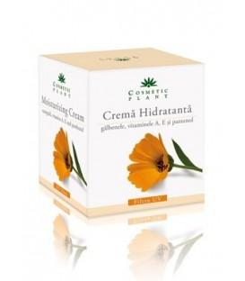 Crema hidratanta cu galbenele si vitaminele A, E si pantenol, 50 ml