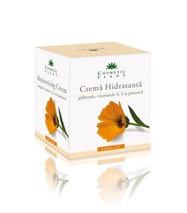 Crema hidratanta cu galbenele si vitaminele A, E si pantenol (50 ml)