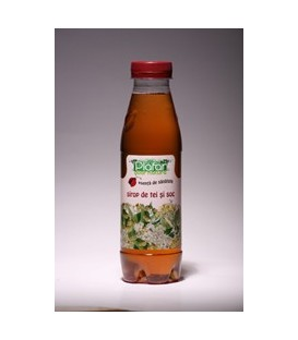 Sirop de tei si soc, 500 ml