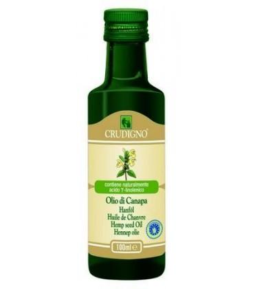 Crudigno ulei de canepa-(Bio), 100 ml
