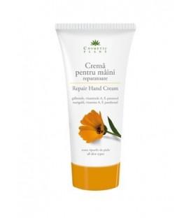 Crema reparatoare pentru maini cu extract de galbenele si vitaminele A, F si pantenol, 150 ml