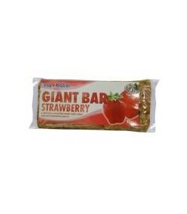 Ma Baker - baton din ovaz cu capsuni, 90 grame