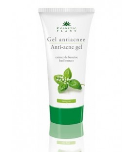Gel antiacneic cu extract de busuioc, 100 ml
