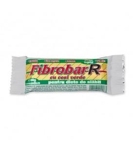 Fibrobar - Baton pentru slabit cu ceai verde, 50 grame