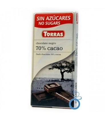 Ciocolata cu 70% cacao, 75 grame