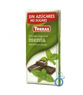 Ciocolata neagra cu menta, 75 grame