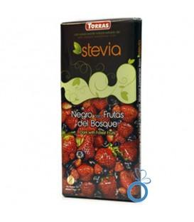 Ciocolata neagra cu fructe de padure, 125 grame