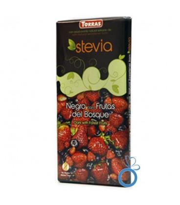 Ciocolata Neagra  Fructe de Padure, 125 grame