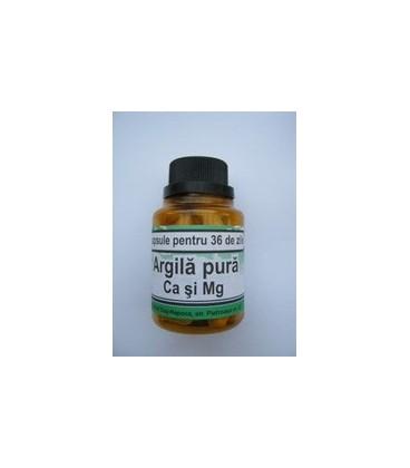 Argila Pura  Ca&Mg, 40 capsule