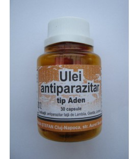 Ulei Antiparazitar Aden, 30 capsule