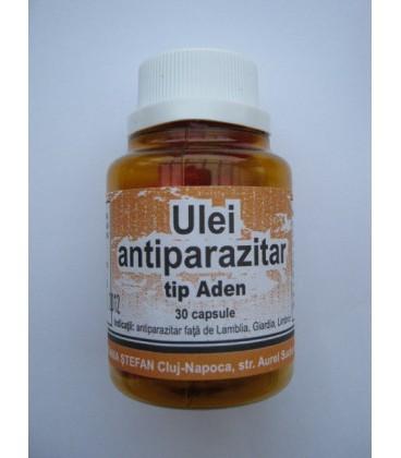 Ulei Antiparazitar-Aden, 30 capsule