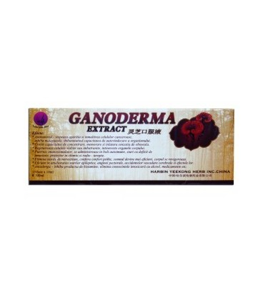 Ganoderma, 10 fiole X 10 ml